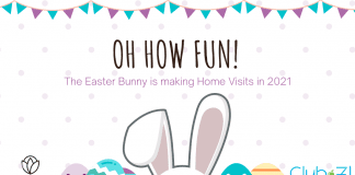 Easter Bunny home visits