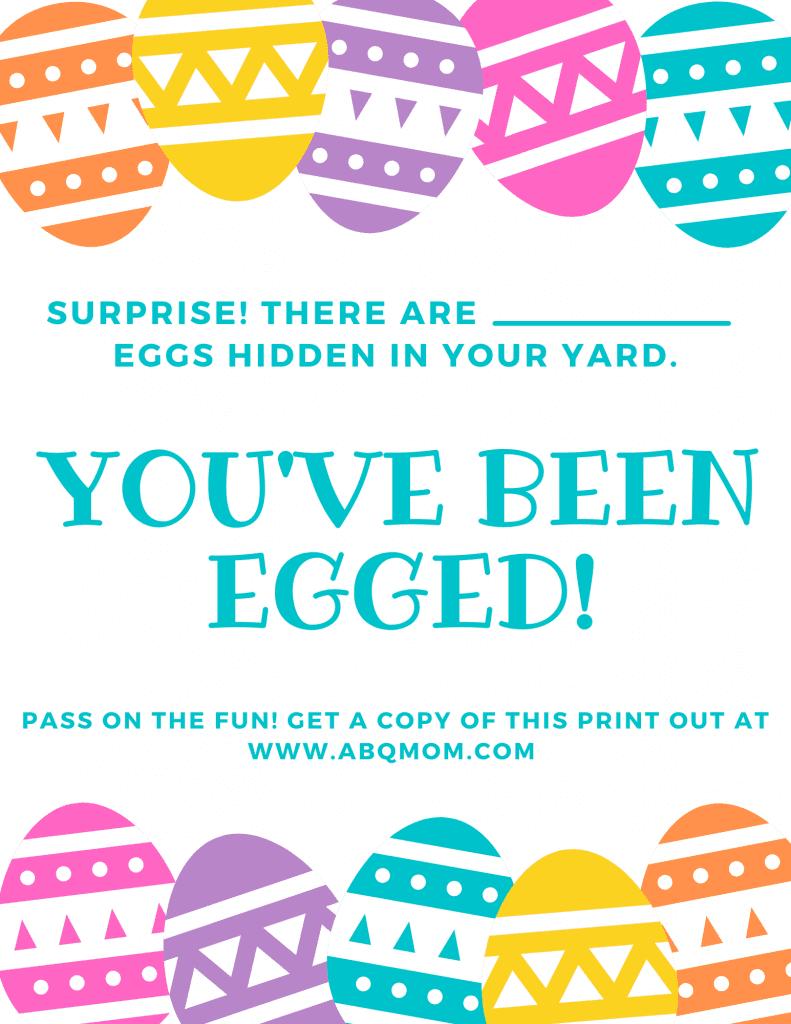 You've been egged, Albuquerque