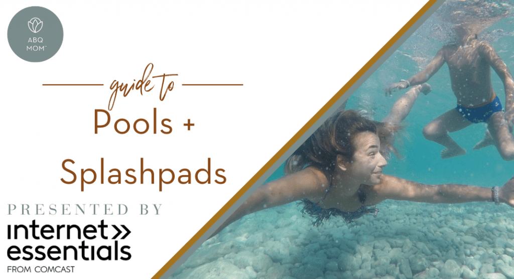 pools and splashpads