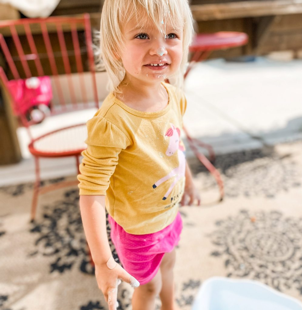 5 Messy Play Ideas My Toddler Loved